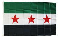Old Style Syria Flag 3 Stars 3x5 ft Republic Revolution Protest Free Syrian Army