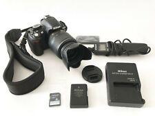 Nikon D D3100 14.2MP Digital SLR Camera Complete KIT w/EXTRAS AF-S DX VR 18-55mm