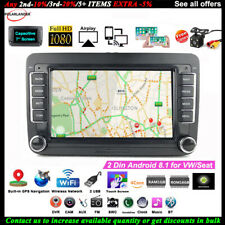 7''2 Din GPS Android Car Radio for VW/Seat +CAM BT Touch FM Wifi iOS Mirror Link