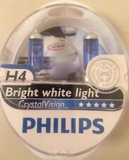 PHILIPS H4 CRYSTAL VISION UPGRADE BULBS H4 CRYSTAL VISION PHILIPS PLUS W5W 4300k
