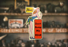 Pinup Dealer Water Slide Decal Hot Rod Ford Flathead VW Hemi Roadster Coupe