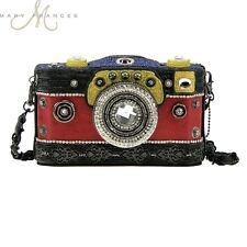 Mary Frances Handbag Picture Perfect Beaded Jeweled Photography Camera Shoulder