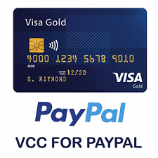 VCC for Paypal Verification fast Delivery - Work Worldwide
