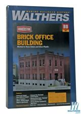 Walthers 933-4050 Brick Office Building Kit HO Scale Train