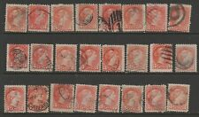 CANADA 24 SMALL QUEENS UNCHECKED USED