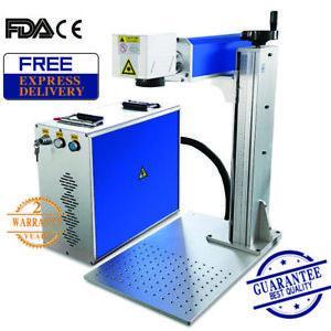 20W Fiber Laser Marking & Engraving Machine for Metal & Non-Metal 220V