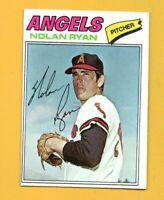 8507  1977 Topps #650 Nolan Ryan ANGELS CARD BK$30
