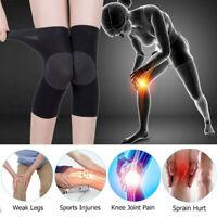 1 Pair Knee Sleeve Compression Brace Support Sport Joint Pain Arthritis Relie Js