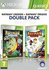Xbox 360 Jeu Rayman Legends & Rayman Origins Pack Double Produit Neuf