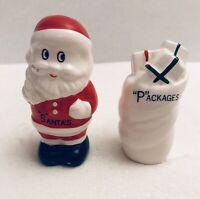 Santa And Present Christmas Salt And Pepper Shaker Set
