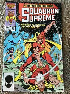 Squadron Supreme #8 (Marvel, April 1986) NM (9.4)