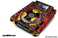 Skin Decal Sticker Wrap for Pioneer CDJ 2000 Turntable DJ Mixer Pro Audio MLTDWN