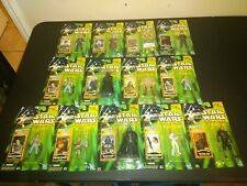 Star Wars Power Of The Jedi Jedi Force Files Collection 1 Lot Of 13 Hasbro 2000
