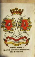 Vintage Tobacco silks princess Louises Highlanders 91st 93rd