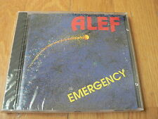 Alef - Emergency - 1990 - Labalme Music - Michel Bernholc - CD NEUF - SEALED