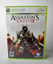 Assassin's Creed II (Microsoft Xbox 360, 2009) Complete Collector's Condition