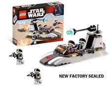 STAR WARS Movie Lego 7668 4 Rebel Scout minifig lot battle pack Speeder trooper