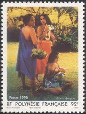 French Polynesia 1995 Gauguin/Tourism Year/Art/Paintings/Women 1v (n37509)