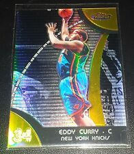 Eddy Curry 2007-08 Topps Finest GOLD REFRACTOR Insert Card (#'d 04/25)