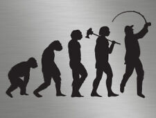 Fishing Fisherman Angling Evolution vinyl decals stickers graphics, cars, vans