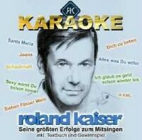 """ROLAND KAISER """"KARAOKE SEINE GRÖßTEN HITS..."""" CD NEU"""