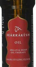 Marrakesh Oil  3x 30ml Argan und Hanföltherapie Haare Styling Elxier Pflege Hair