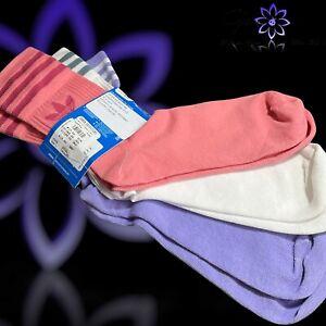 Adidas Primegreen Originals 3 Pack Crew Logo Socks UK L 8.5-10