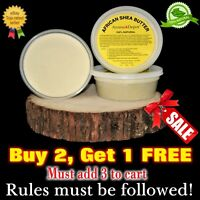 8oz Organic African Shea Butter Ivory Raw  From GHANA Natural UNREFINED Pure