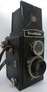 Vintage Voigtlander Brilliant TLR Rollfilm Camera