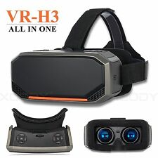 """All In One Headset H3 Virtual Reality 3D 5.5"""" 2K Display Bluetooth HDMI Glasses"""