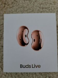 Samsung Galaxy Buds Live Wireless In-Ear Headset - Mystic Bronze Bluetooth AKG