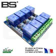 Carte 8 relais opto-isolés 10A 250V AC 8 channel relays board 5V ESP-32