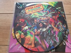 KISS - OUT OF CONTROL - RARE REISSUE USA IMPORT 10 TRACK PIC DISC LP +OBI MINT