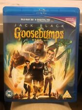"""Goosebumps"" (2016) Blu-Ray 3D 2 disc set (Region B)"
