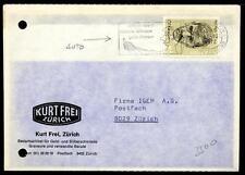 SWITZERLAND - SVIZZERA - 1972 - Bigl. Postale - Edizioni private - Da Zurigo a Z