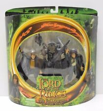 Toy Biz 2001 Lord of the Rings Merry Pippin Moria Orc Action Figure 3 Pack  NIP