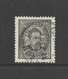 [Portugal 1887 – King D. Luiz 500 reis black] perfect used condition
