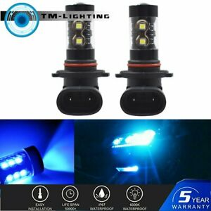 2x 8000K LED Fog Driving Lights Lamps Fit For 2015 2016 2017 2018 Ford F150 F250