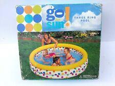 Go For Sun 3-Ring Pool, 168 x 41 cm.