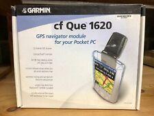 GARMIN CF QUE 1620 GPS NAVIGATOR MODULE FOR POCKET PC, NEW FACTORY BOXED, PPD