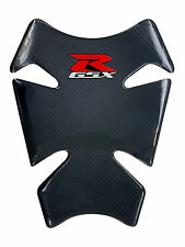 "8.7"" Real Carbon Fiber Fuel Gas Tank Protector Pad For GSX-R GIXXER 1000 600 750"