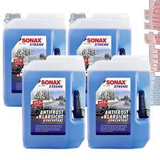 4x 5L Sonax XTREME AntiFrost&KlarSicht Konzentrat Frostschutz Scheibenreiniger
