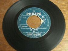 JOHNNY HALLYDAY 45 TOURS CANADA JE L'AIME BEATLES 7