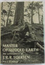 Master of Middle Earth, The Achievement of JRR Tolkien by Paul Kocher hc/dj 1973