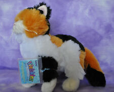 Webkinz Patchwork Cat ~ Calico ~NWT For Kitty Lover ~ Soft & Cute  FAST SHIP !