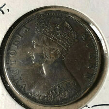 1901 Hong Kong 1 Cent Coin AU Condition