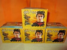 2005 Panini Harry Potter & The Goblet of Fire Lot of 4 SEALED Sticker Pack Boxes
