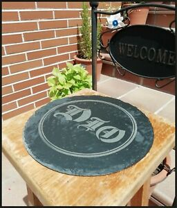 Dio Holy Diver Board Slate / Pizarra Aprox measure 25cm