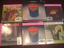 CHICKEN SHACK 5 ORIGINAL Replica LP'S JAPAN PRESSED OBI CD'S RARE Sealed Box Set
