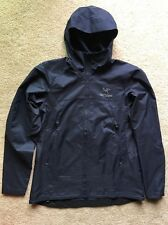 Auth Arc'teryx Tenquille Hooded Jacket - Women's Sz. X-Small Black Sapphire $175
